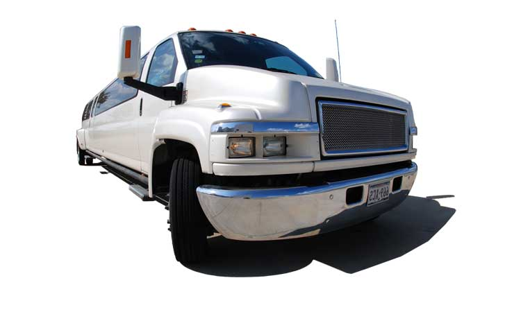 Limousine Towncar - Stretch Limo GMC Kodiak TopKick<