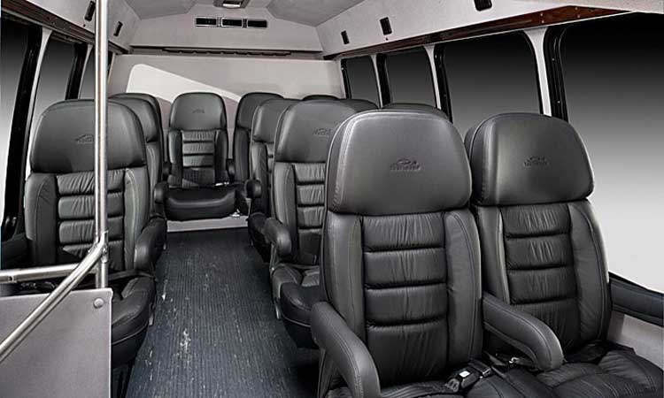 Limousine Towncar - 18 Passengers Corporate Limo Bus - Inside